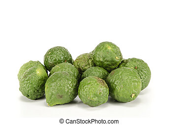 Bergamot - Image of bergamot on white background