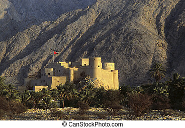 Fort Nakhl, Sultanate of Oman - Fort Nakhl in the Sultanate...