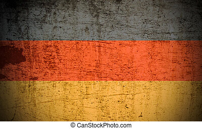 German flag Grunge effect