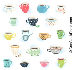 Tea and Coffee Cup Collection