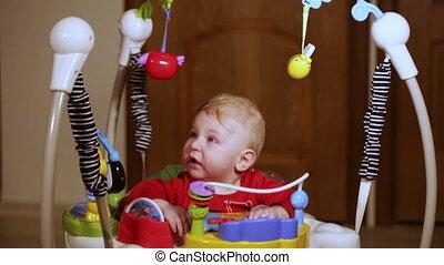 Baby walker - Jumpers children sitting in child jumps