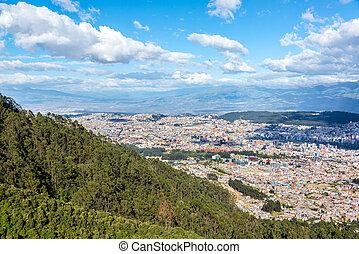 Quito Cityscape - Cityscape of Quito, Ecuador