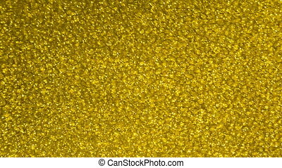 Yellow sparkling crystal background