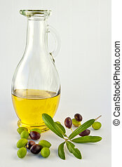 Olive Oil and Olives V - Olive Oil and Olives with great...