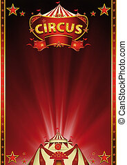 Magic_red_circus - A beautiful circus background for your...