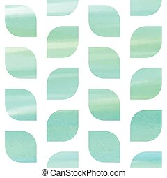 Blue watercolor seamless texture
