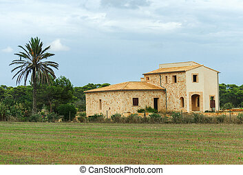 Spanish medieval country house Place for your text