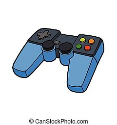Gamepad - This is the illustration of a Gamepad