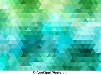 triangle background, vector