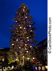 Christmas time in Strasbourg, Alsace, France