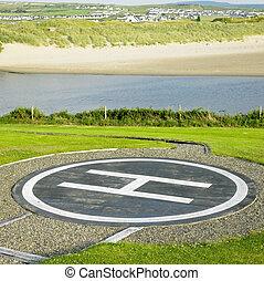 helipad, County Clare, Ireland