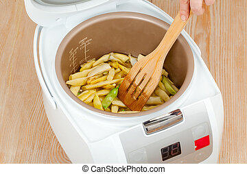 cooking green beans in multicooker