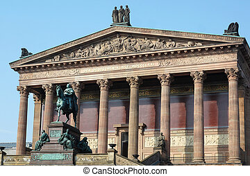 Alte Nationalgalerie Berlin Germany - the Alte...