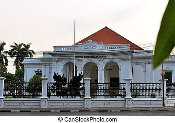 Dutch colonial architecture in Jakarta, Indonesia - Gedung...