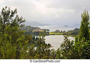 hotel llaollao and lakes near bariloche argentina - hotel...