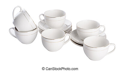 teacup. teacup set on a background. teacup. teacup set on a...