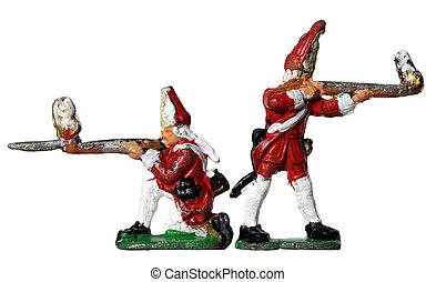 Redcoat Toy Soldiers