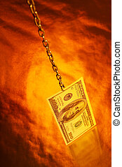 Currency imaginations - The denomination hundred dollar...