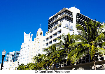 The Art Deco District, Miami Beach, Florida, USA