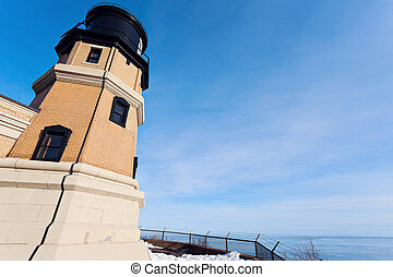Split Rock Lighthouse. Silver Bay, Minnesota, USA