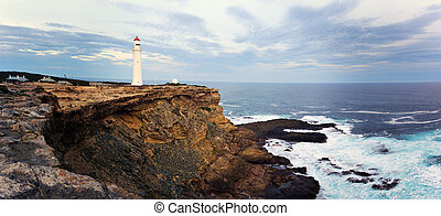 Split Point Lighthouse - Great Ocean Road, Victoria,...