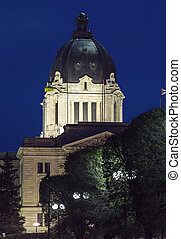 Saskatchewan Legislative Building in Regina