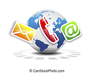 support - worldwide communication via phone, mail or e-mail