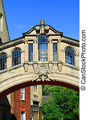 Bridge Of Sighs - The Bridge of Sighs across New College...
