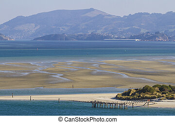 Sandbank in the sea