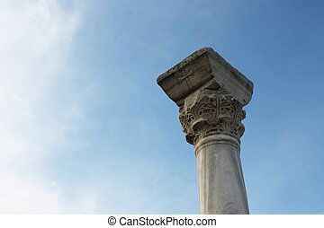 Column of the old Greek city