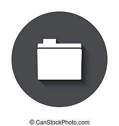 Vector modern  gray circle icon