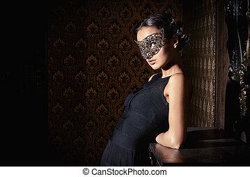 stranger girl - Beautiful mysterious stranger girl in...