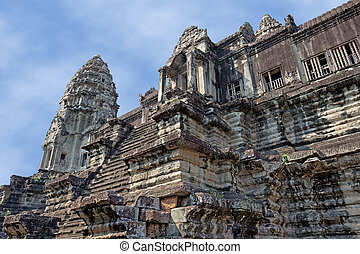 khmer civilization - ancient temple of Khmer civilization in...