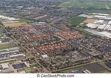 mieszkaniowy, Prospekt, antena,  Amsterdam, powierzchnia