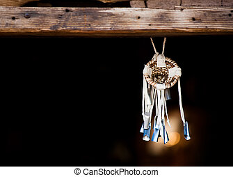 Dream Catcher - Native American Dream Catcher Suspended from...