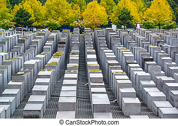 Holocaust Monuments - Berlin, Germany at the Holocaust...
