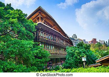 Library in Taipei - TAIPEI, TAIWAN - JANUARY 16, 2013: The...