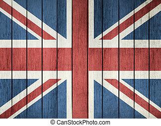 Grunge Flag Of United Kingdom
