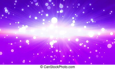 bokeh glow background purple