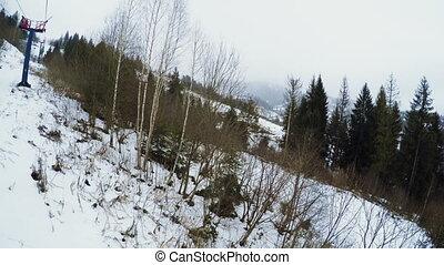 View ski lift
