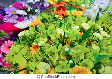 Lot different flowers images and stock photos 875 lot for A lot of different flowers make a bouquet