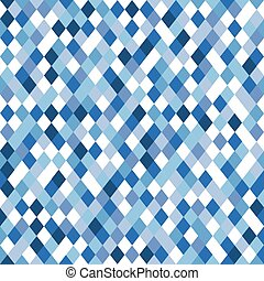 Abstract vector pattern of different blue elements