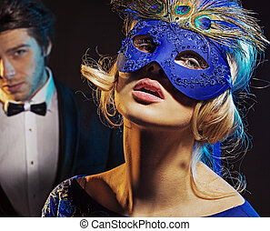 Carnival party for man and his wife