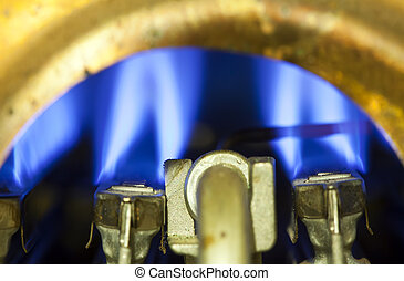 Element of ignition of the gas water heater, boiler