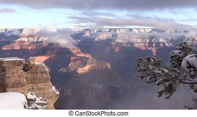 Winter Landscape at Grand Canyon