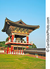 Temple pavilion architecture - Korean-styled temple pavilion...