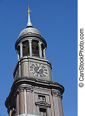 Hamburg - Michel St Michaelis Church - The St Michaelis...
