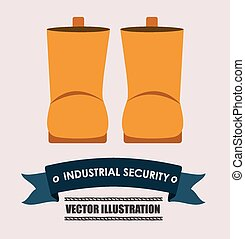 industrial security desing vector illustration - industrial...
