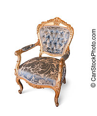 Golden luxury chair