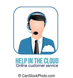 Call center design,vector illustration - call center...